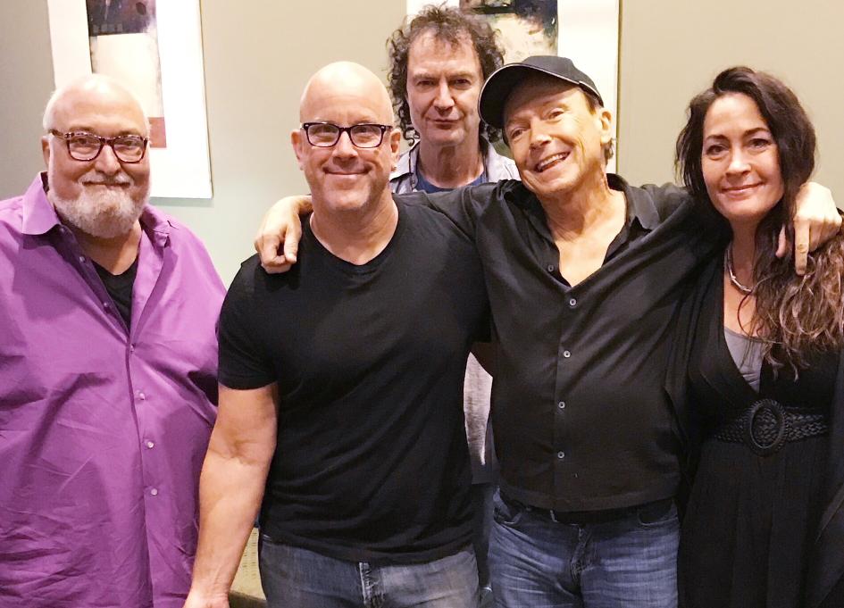 Frank Fabio, Craig J, David Robicheau, David Cassidy, and Teri Cote. Mix Kitchen, Fall 2017.