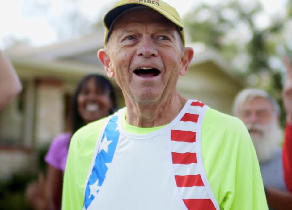Larry Macon prepares for his 2,000th marathon