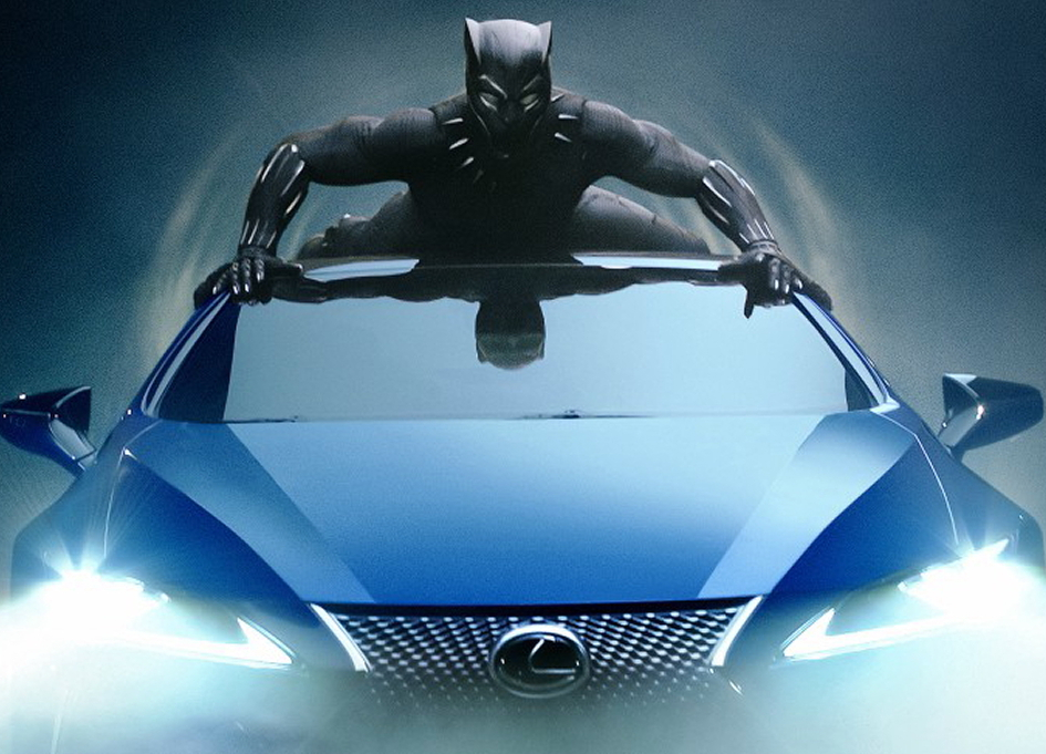 Black Panther and Lexus