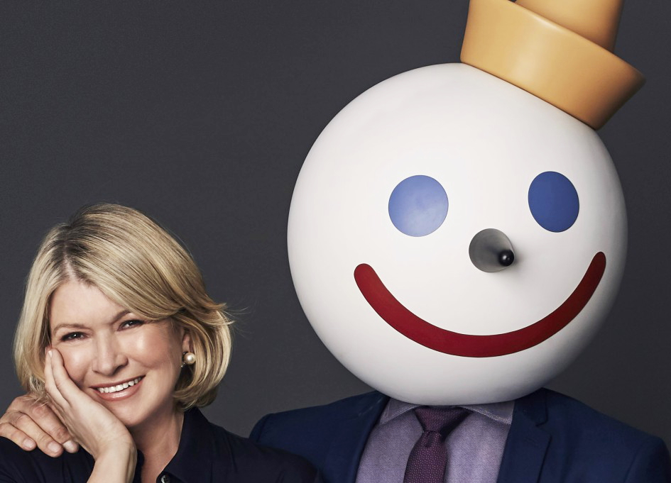 Watch Martha Stewart take on Jack in the Box