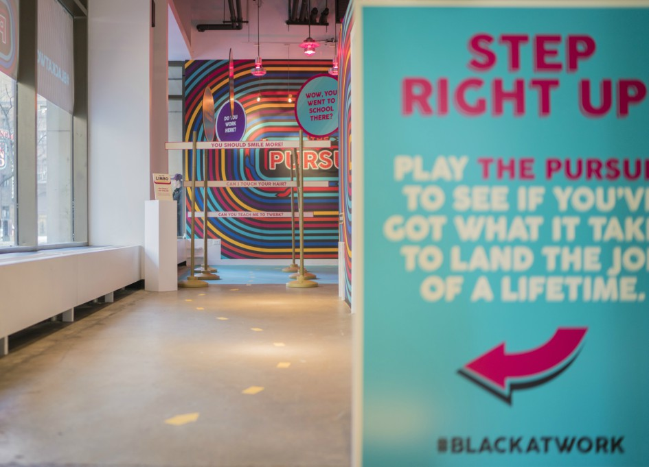 Havas unveils 2nd #blackatwork installation
