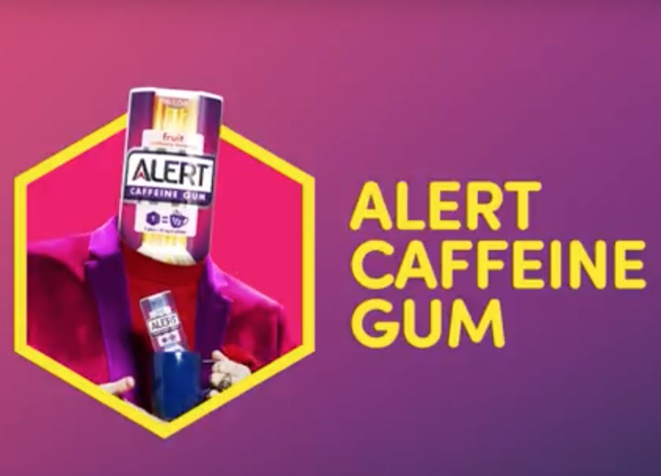 Energy BBDO & Alert Caffeine Gum got this thing now