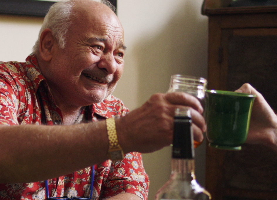 """Burt Young in """"King Rat,"""" a recent Cow Lamp acquisition"""