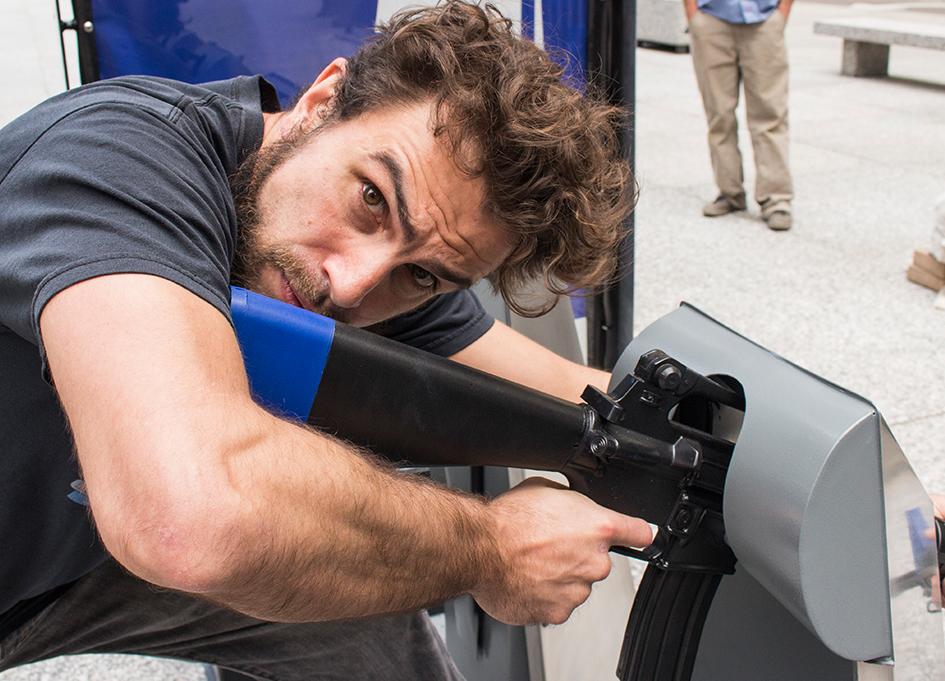 Witnessing the Metro Gun Share Program at Daley Plaza