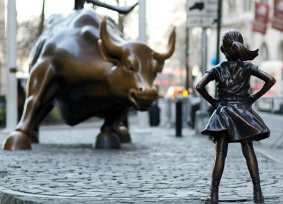 """McCann's """"Fearless Girl"""" for State Street Advisors"""