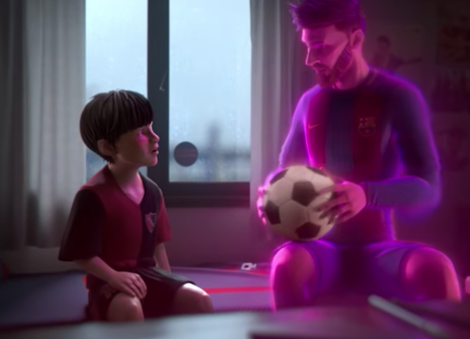 Gatorade releases animated film about Lionel Messi