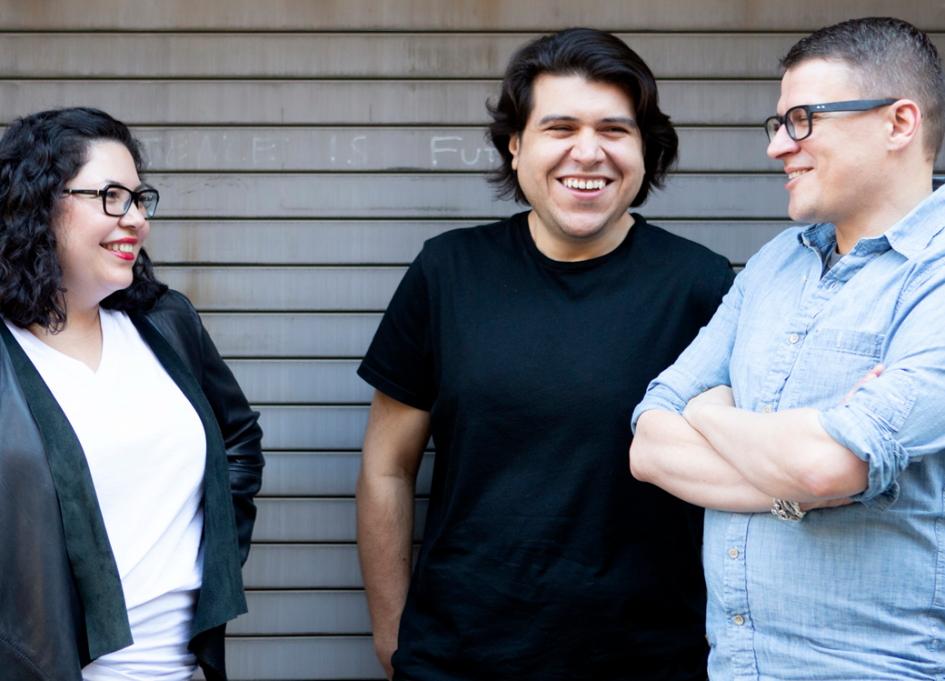Executive Producer Luvy Delgado, Creative Director Pedro Andres Sanchez and Senior Motion Designer Krzysztof Pianko