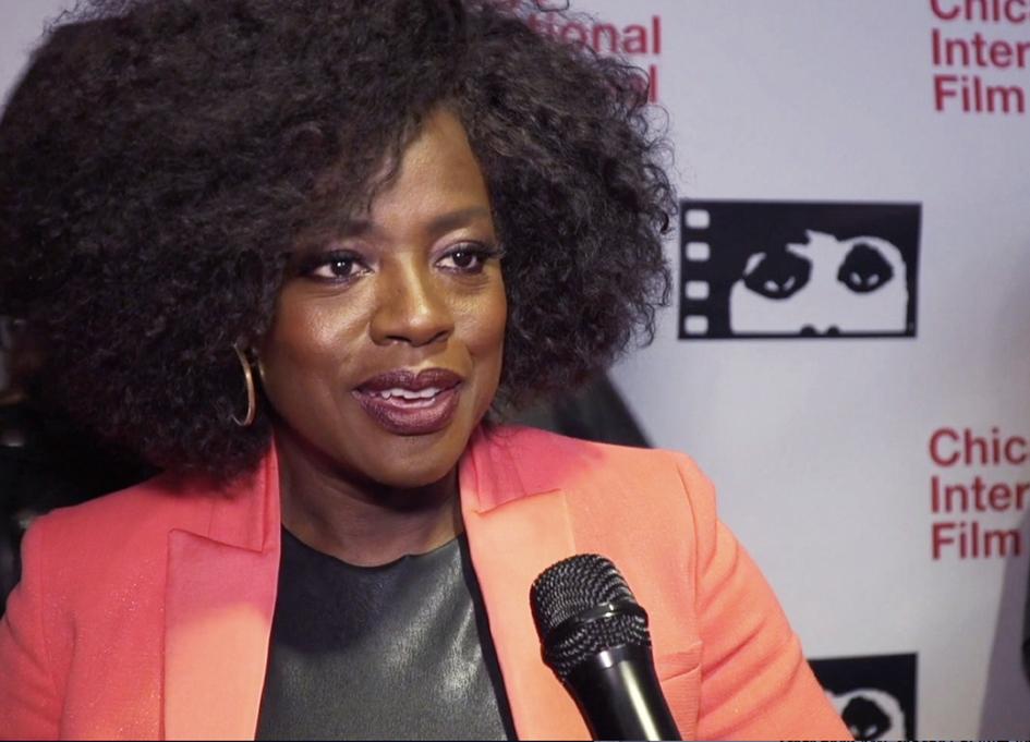 """Widows"" star Viola Davis talks to Reel Chicago at the Chicago International Film Festival"