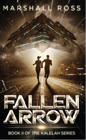 """Marshall Ross's """"Fallen Arrow"""""""
