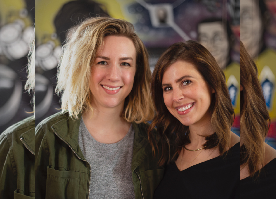 Lauren Hystead and Lauren Swago