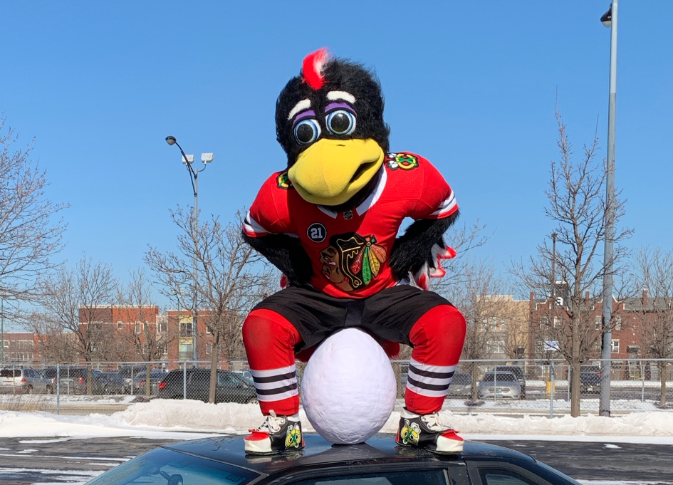 Banner resurrects a bird for the Blackhawks