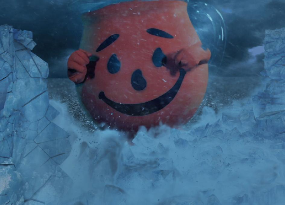 Kool-Aid Man Krashes epic video premiere