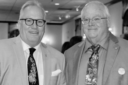 Bradley Matthys and Mark Hogan