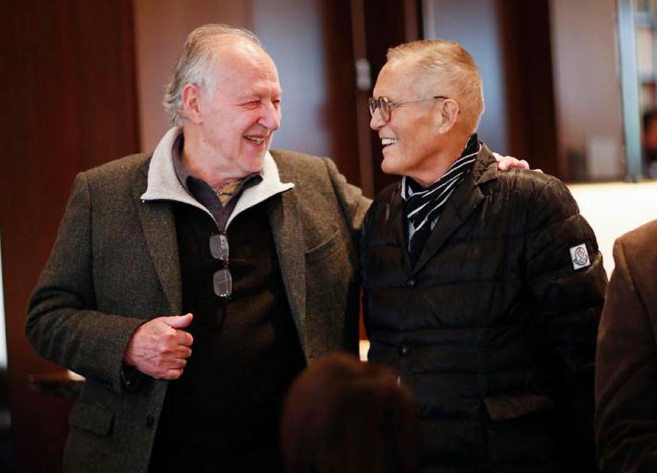 Werner Herzog and Milos Stehlik, Facets 2019