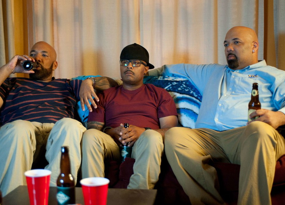 Kareme Young, Sultan Salahuddin, and Quincy Young in 'South Side'