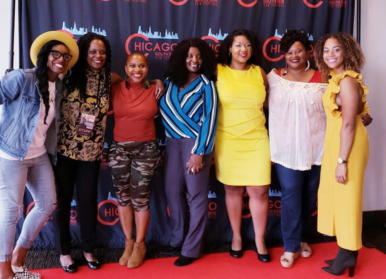 Attendees celebrate the 2018 Chicago SSFF