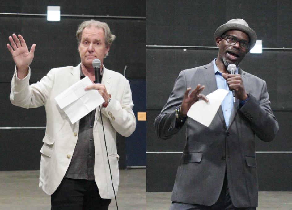 Peter Hawley and Kwame Amoaku