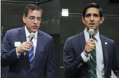 Jesse Ruiz and Samir Mayekar