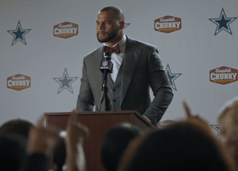 "NFL's Prescott, Barkley are ""Champions of Chunky"""