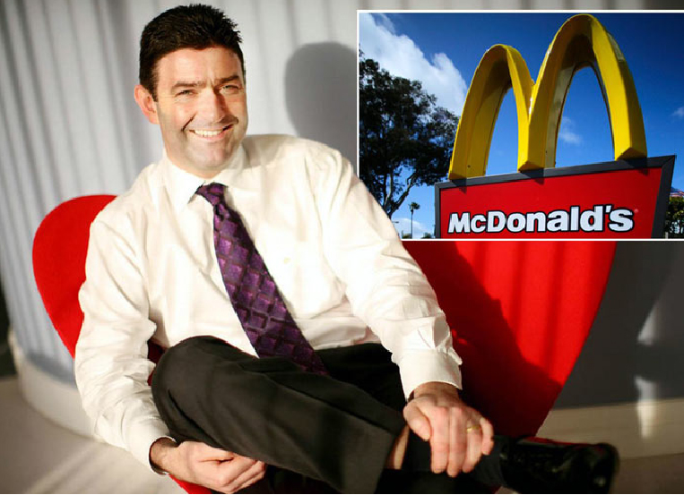 McD's former CEO to collect paycheck for six months