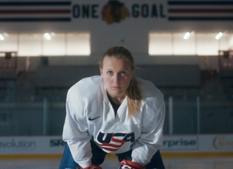 Banner, Blackhawks, Kendall Coyne, and 'As Fast as Her'
