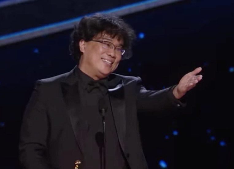 Bong Joon Ho scores a win for everyone at the Oscars