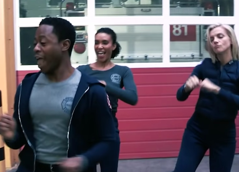 Watch 'Chicago Fire' cast  torch new music video