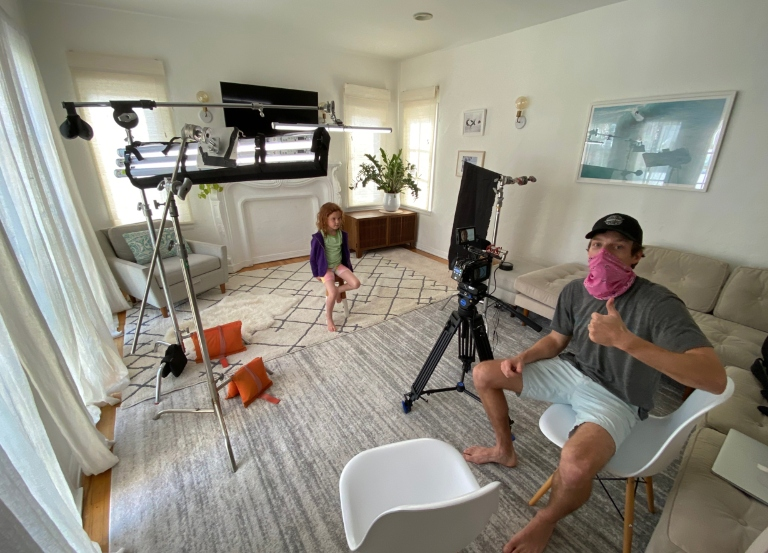 Society Director Martin goes BTS of Uncle Ben's spot
