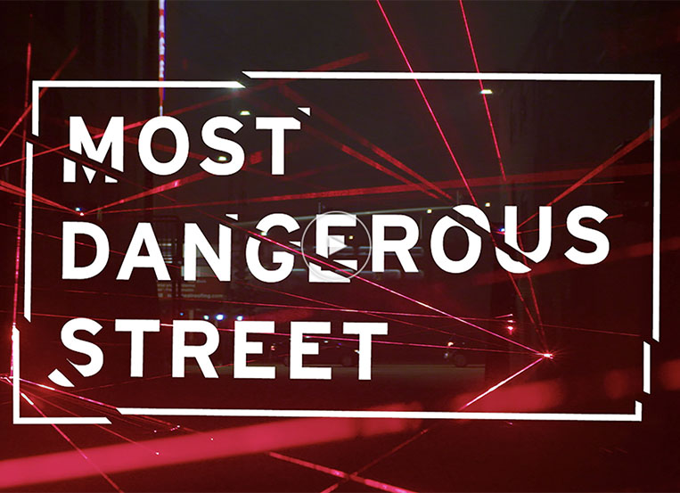 FCB's 'Most Dangerous Street' best Experiential Design