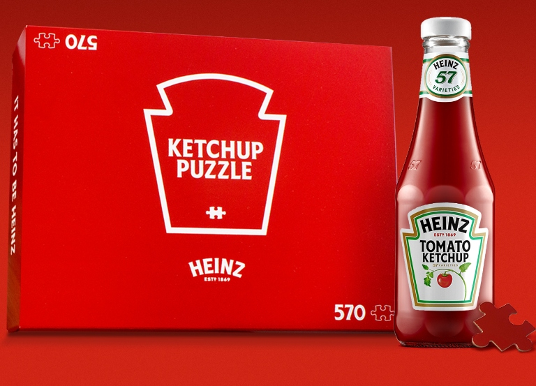 Heinz releases a ketchup-inspired puzzle