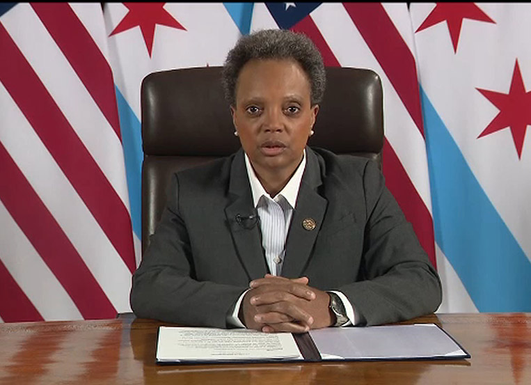 Mayor Lightfoot announces plans for reopening Chicago