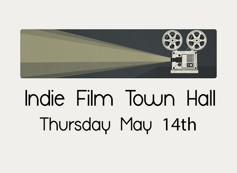 The first Indie Film Town Hall meeting on Thursday