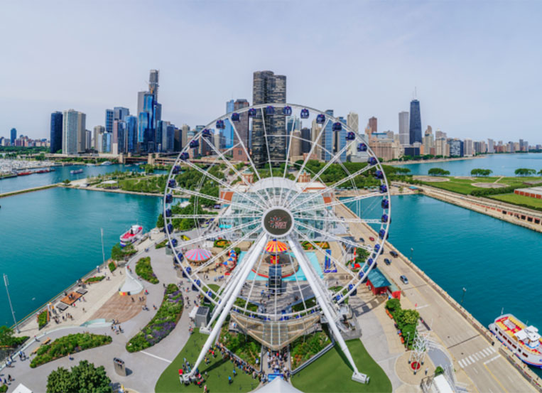 TimeZoneOne wins two awards for Navy Pier campaigns