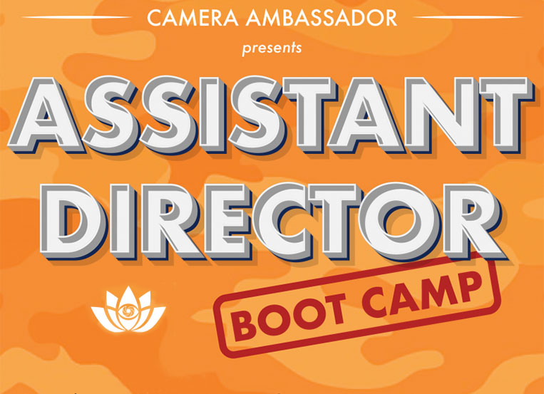 Camera Ambassador holds Assistant Director Boot Camp