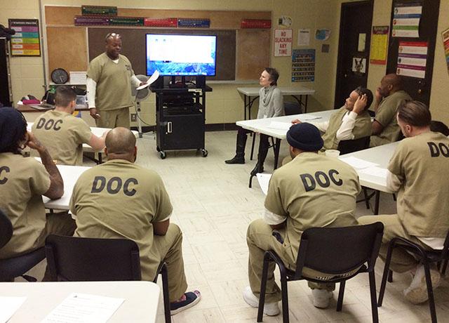 Groundbreaking film program builds inmates skills