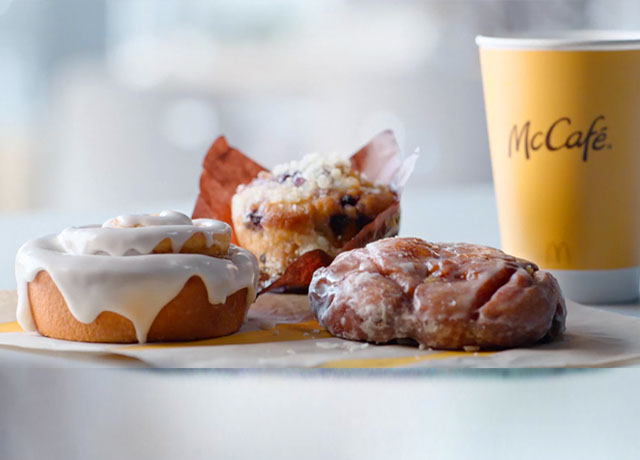 McDonald's sweetens up breakfast with McCafé Bakery
