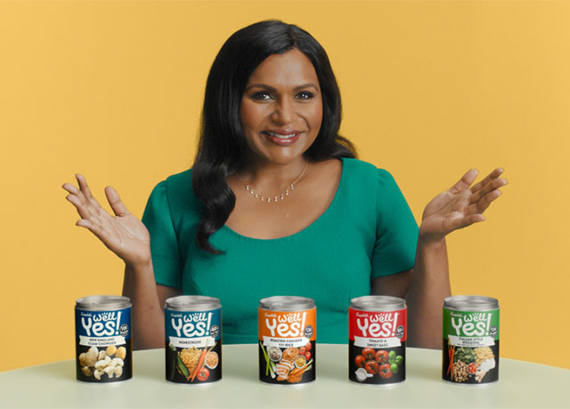 Burnett taps Mindy Kaling to launch Campbell's Well Yes!