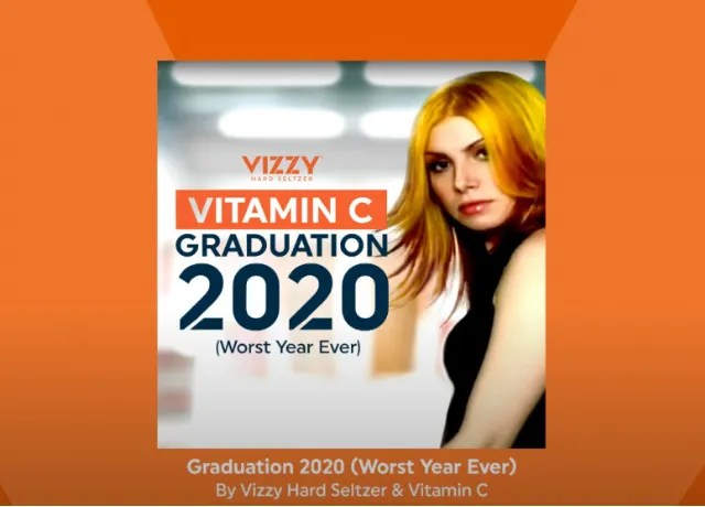 Vizzy sends-off  2020 with Vitamin C Graduation remake