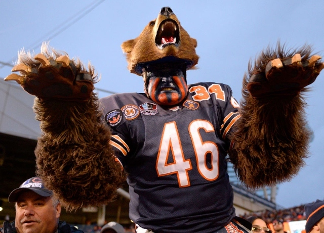 Where does Chicago rank for football fans?