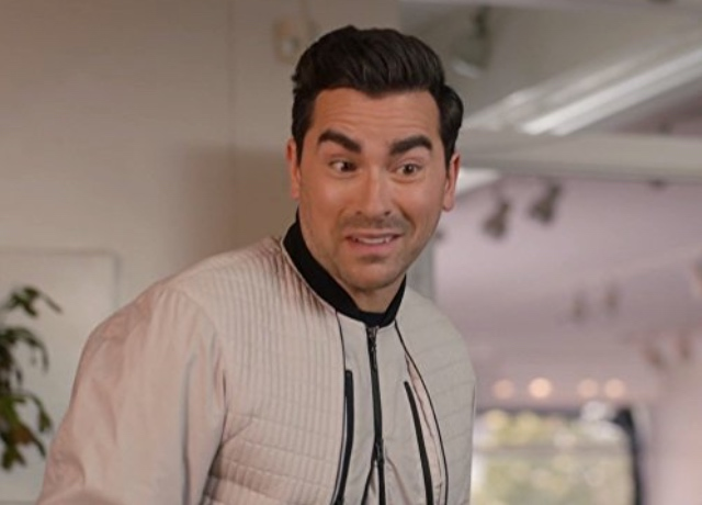 Dan Levy says 'Ew' to Schitt's Creek pop up in Chicago
