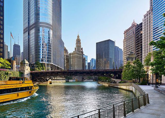 Chicago Riverwalk reopens today to residents and visitors
