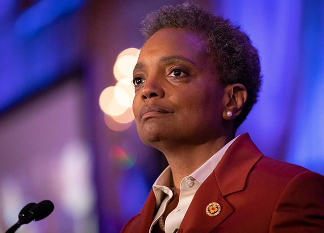 Mayor Lightfoot honors Chicago's women community leaders