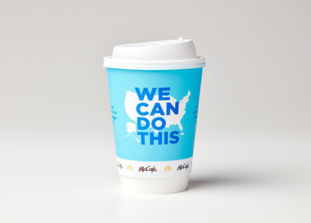 McDonald's partners with Biden on 'We Can Do This'