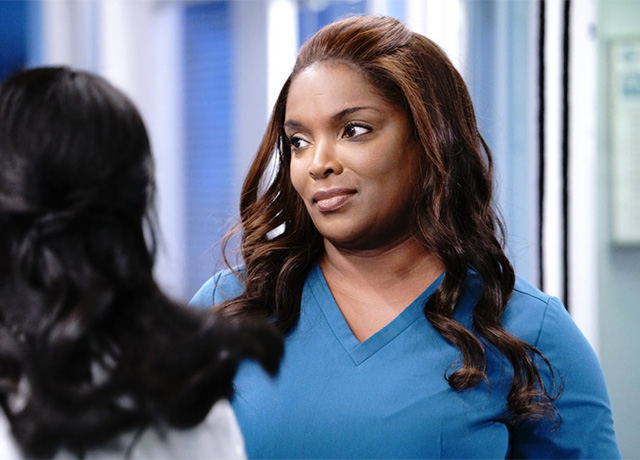 Chicago Med set pics and promo 'A Red Pill, A Blue Pill'