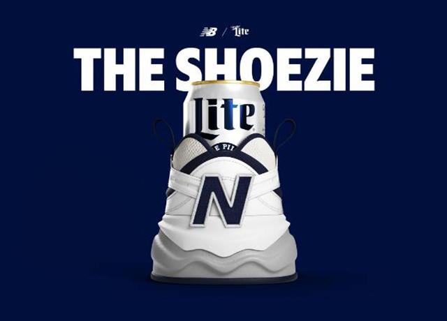 Miller Lite & New Balance collide for first-ever beer shoe