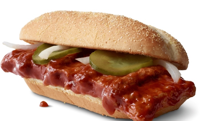Let's get saucy – McDonald's McRib is back for 40-year celebration