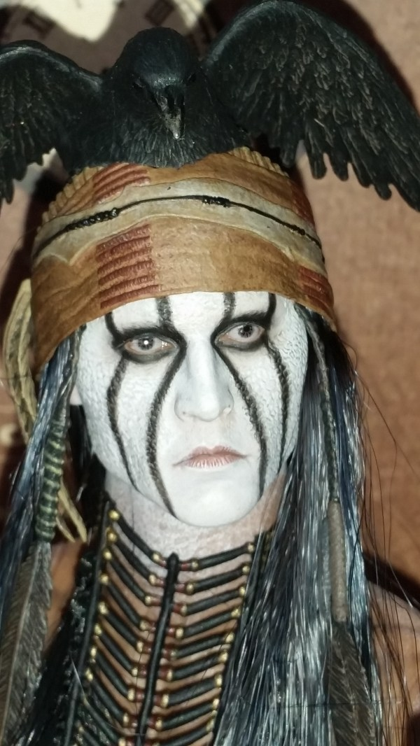 Johnny Depp as Tonto in Lone Ranger