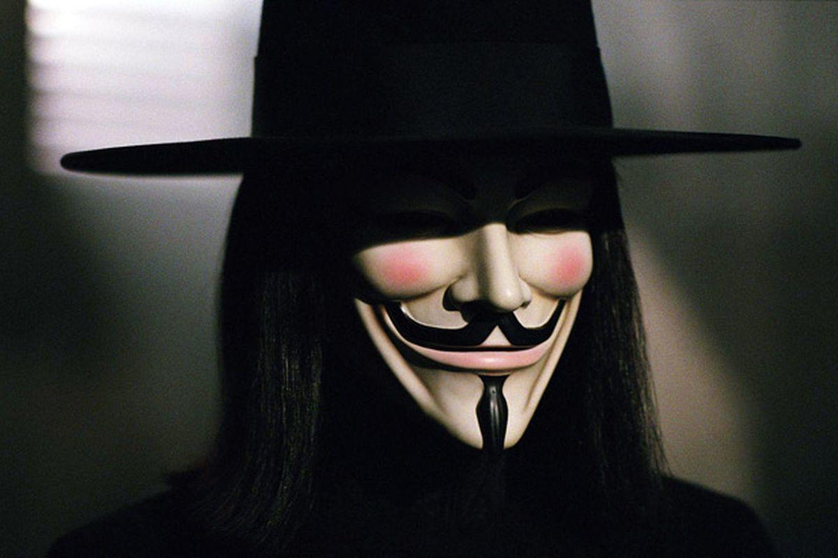 """V for Vendetta"" from Warner Bros."