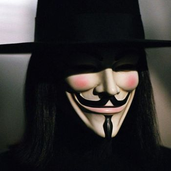 """V for Vendetta"" from Warner Bros."