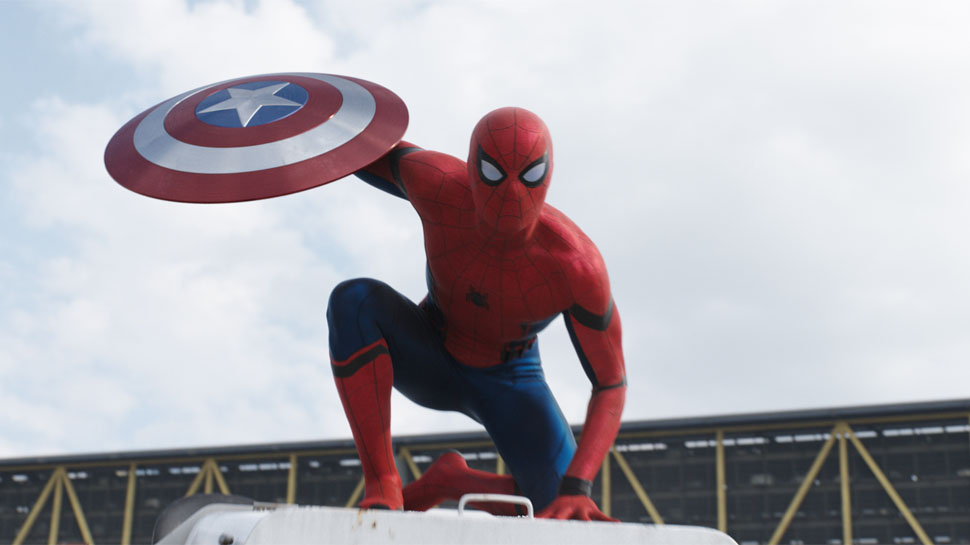 "Spider-Man in ""Captain America: Civil War"" from Marvel Studios"